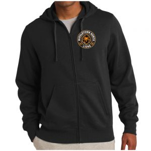 Lions Full Zip Hooded Sweatshirt